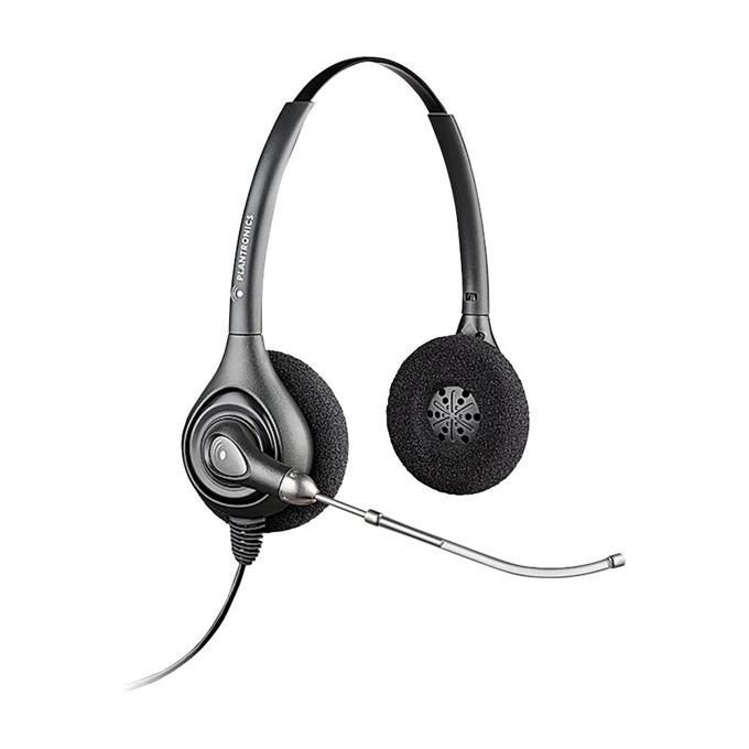 Слушалки Plantronics SupraPlus HW261, широколентов звук, гласова тръба, QD букса image