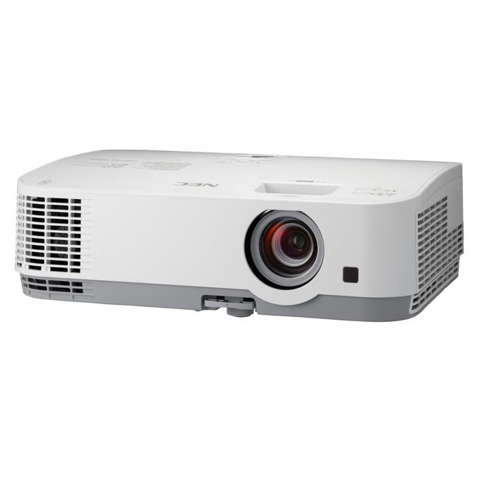 Проектор NEC ME361W, LCD, WXGA (1280x800), 6000:1, 3600 lm, VGA, HDMI, RS232, USB, LAN image