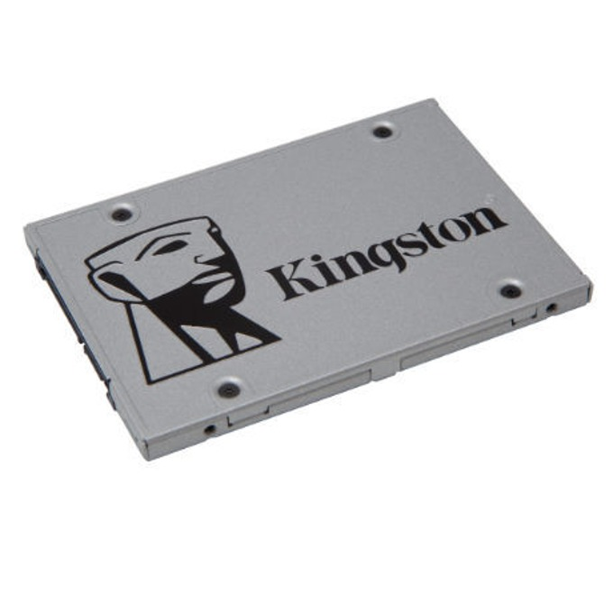 "SSD 240GB Kingston UV400 (SUV400S37/240G), SATA 6Gb/s, 2.5""(6.35 cm), скорост на четене 550MB/s, скорост на запис 490MB/s image"