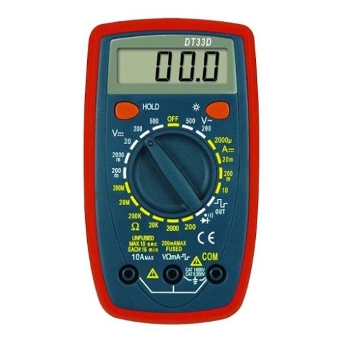 Мултицет DT-33 Digital Multimeter