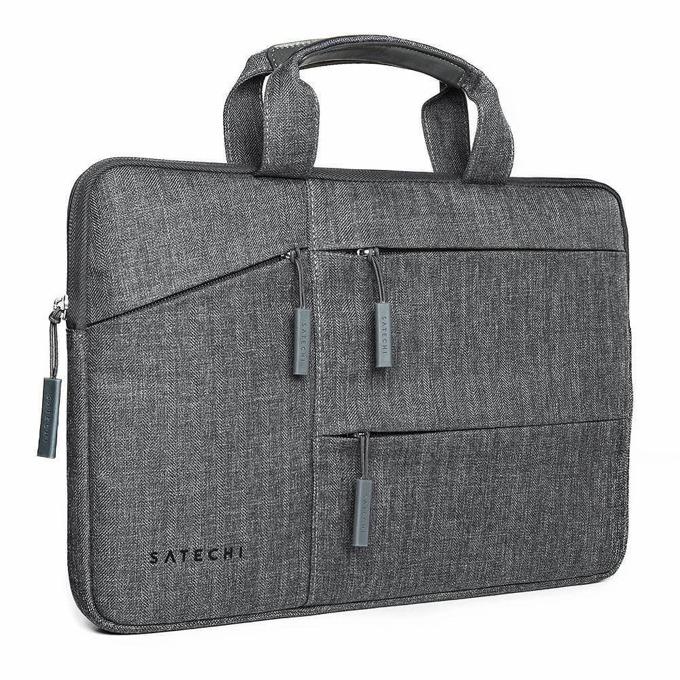 """Чанта за лаптоп Satechi ST-LTB15, до 15"""" (38.1 cm), множество джобове, сива image"""