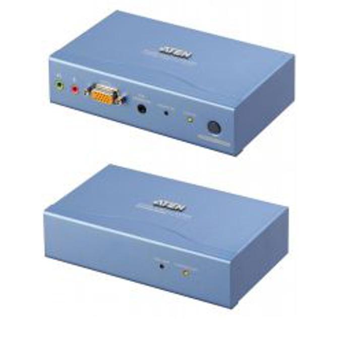 KVM екстендър ATEN CE300L/R, 1600 х 1200, PS2 Mouse & Keyboard, Audio image