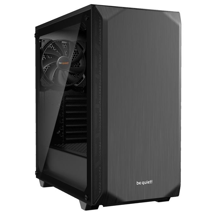 Кутия be quiet PURE BASE 500, ATX/M-ATX/MiniITX, 2x USB 3.0, черна с прозрачен капак, без захранване image