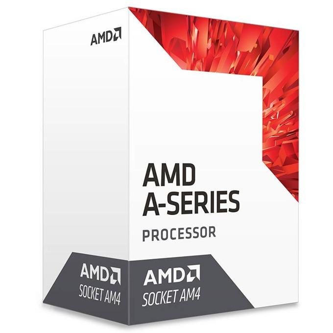 AMD A6-9500 Bristol Ridge, двуядрен (3.5/3.8GHz, 1MB, 1029 MHz GPU, AM4) BOX, с охлаждане image