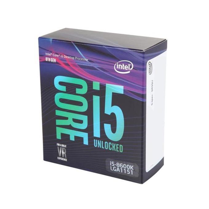 Процесор Intel Core i5-8600K шестядрен (3.60/4.30GHz, 9MB Cache, 350MHz-1.15 GHz GPU, LGA1151) BOX, без охлаждане image