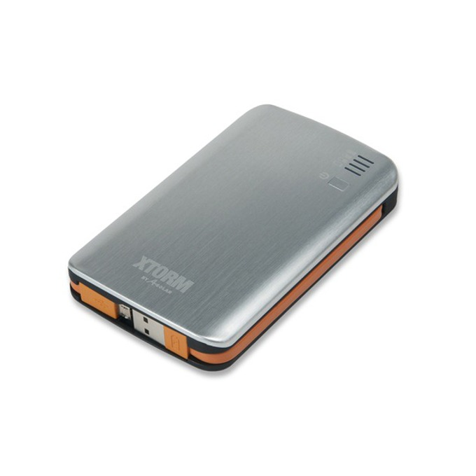 Външна батерия/power bank A-solar Xtorm AL370, 7300 mAh, USB изход за мобилни телефони, сребриста  image