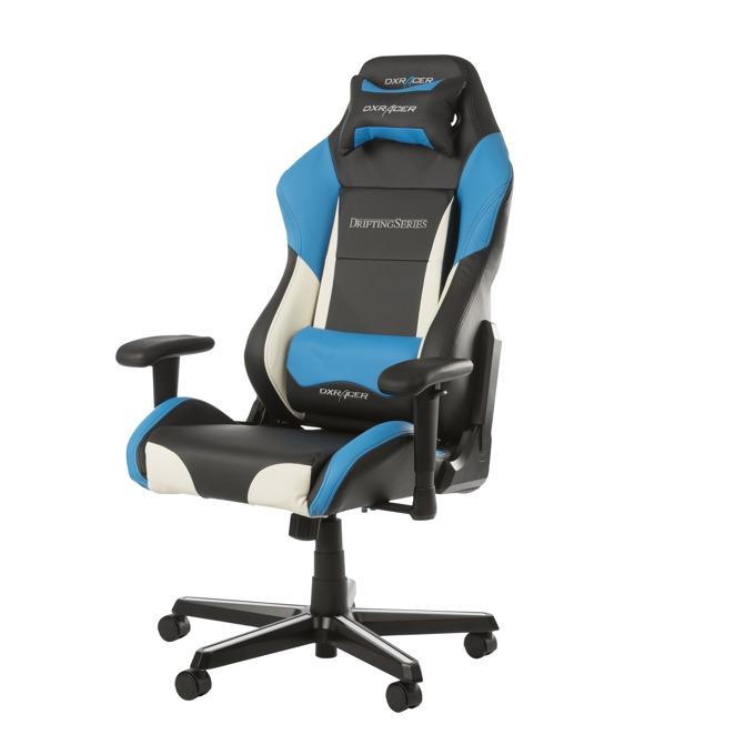 Геймърски стол DXRacer Drifting, син image