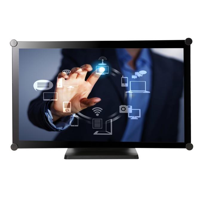 """Тъч Монитор AG NEOVO TX-22, 21.5""""(54.61 cm), IPS тъч панел, Full HD, 7ms, 1000:1, 250 cd/m2, VGA, DVI-D, черен image"""