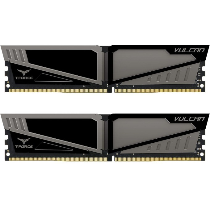 8GB (2x4GB) DDR4 3000MHz, Team Group T-Force Vulcan, TLGD48G3000HC16CDC01, 1.35V image
