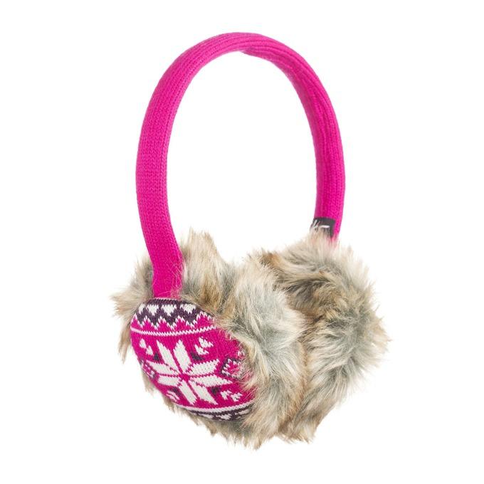Слушалки KitSound Earmuffs Fairislie 2, розови, с ушанки, микрофон image