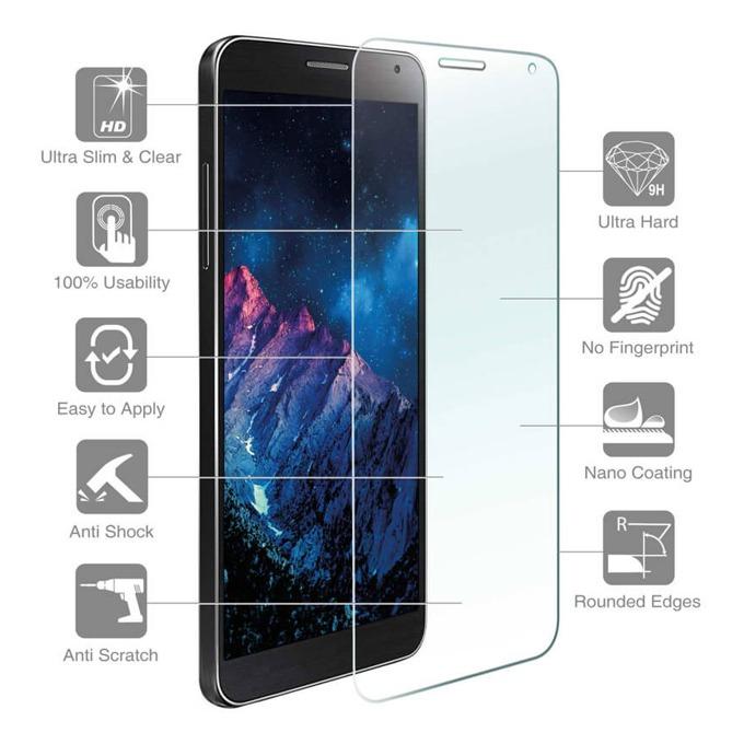 Протектор от закалено стъкло /Tempered Glass/, 4smarts, за Huawei Y6 Pro (2017) image