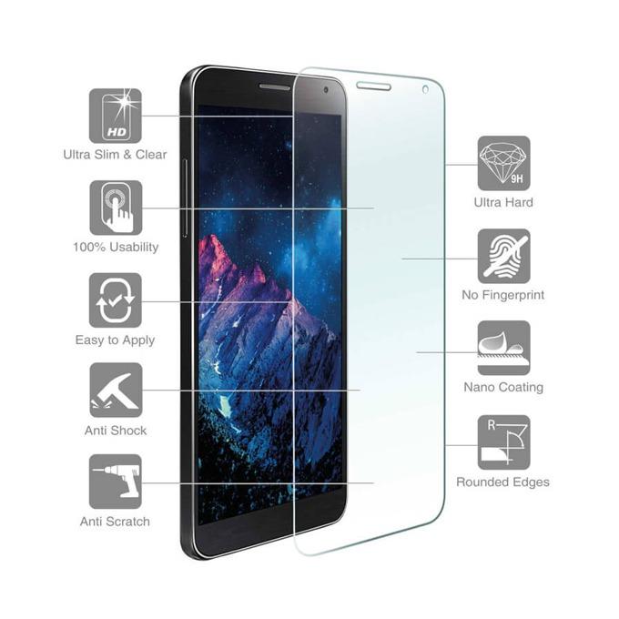 Протектор от закалено стъкло /Tempered Glass/, 4Smarts за LG Bello 2  image