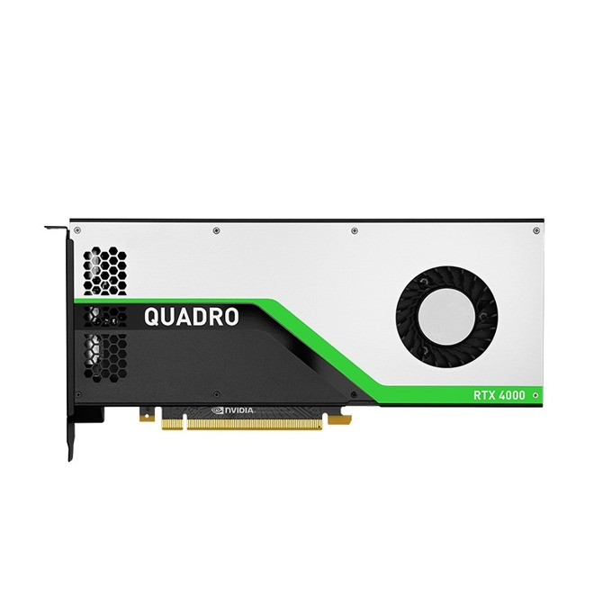 Видео карта nVidia Quadro RTX 4000, 8GB, PNY, PCI-E 3.0, GDDR6, 3x DisplayPort, 1x VirtualLink image