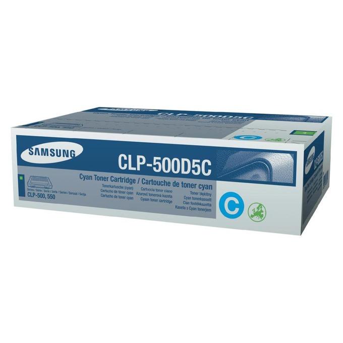 КАСЕТА ЗА SAMSUNG CLP500 - Cyan - P№ CLP-500D5C - заб.: 5000k image