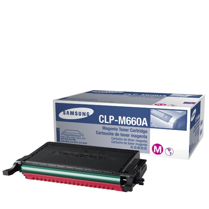 КАСЕТА ЗА SAMSUNG CLP610/CLP660/CLX6200/CLX6210/CLX6240 - Magenta - P№ CLP-M660A - заб.: 2000k image