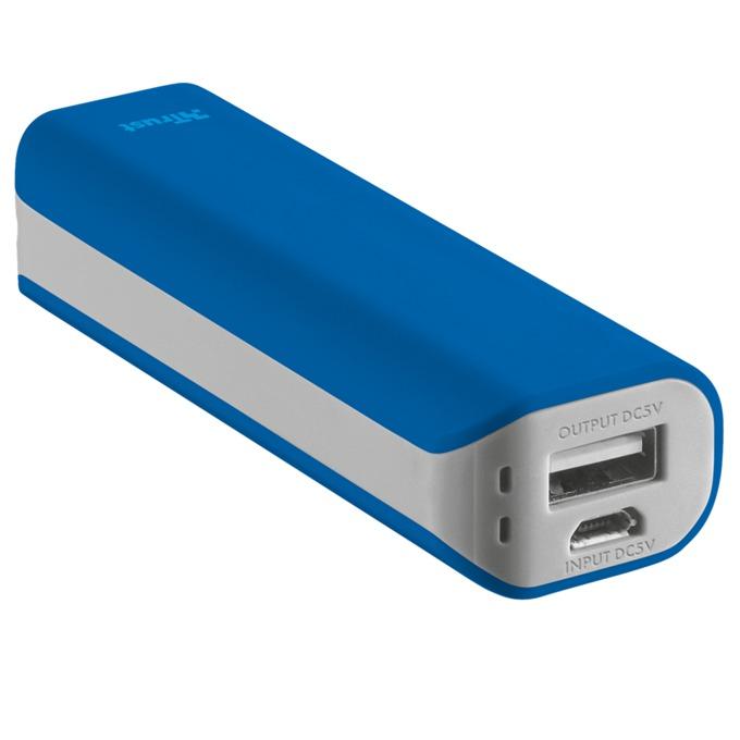 Външна батерия /power bank/ TRUST Primo Power Bank 2200, 2200mAh, синя image