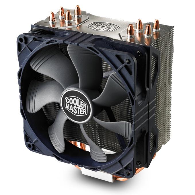 Охлаждане за процесор Cooler Master Hyper 212X, съвместимост с Intel LGA 2066/2011-3/2011/1366/1156/1155/1151/1150 & AM3(+)/AM2(+)/FM2(+)/FM1 image