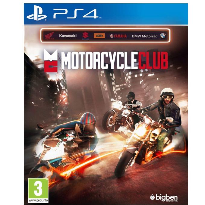 Игра за конзола Motorcycle Club, за PS4 image