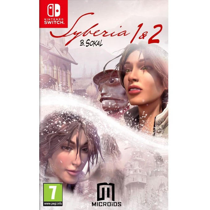 Игра за конзола Syberia I + Syberia II, за Nintendo Switch image