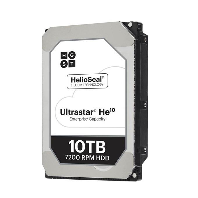 """Твърд диск 10TB HGST Ultrastar He10 HUH721010AL5201, SAS 12Gb/s, 7200 rpm, 256MB кеш, 512e sector size(TCG), 3.5"""" (8.89 cm) image"""