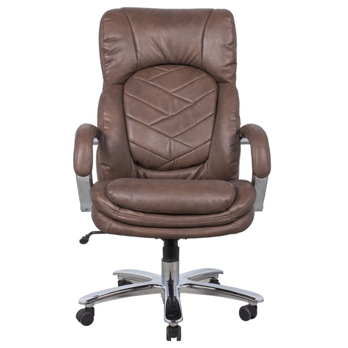 Директорски стол Carmen 6100, кафяв image