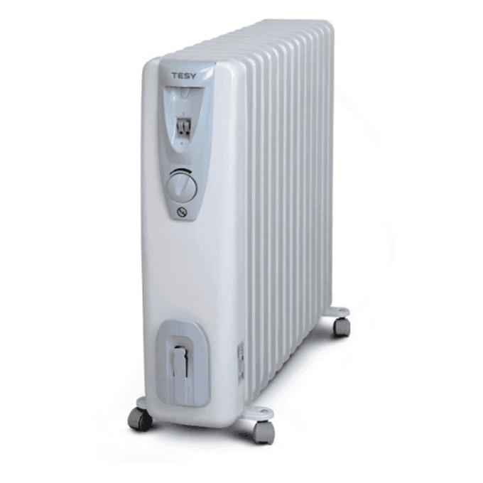 Радиатор Tesy CB 3014 E 01 R, 3 степени на мощност, вграден термостат, устройство против замръзване, 3000W, сив image