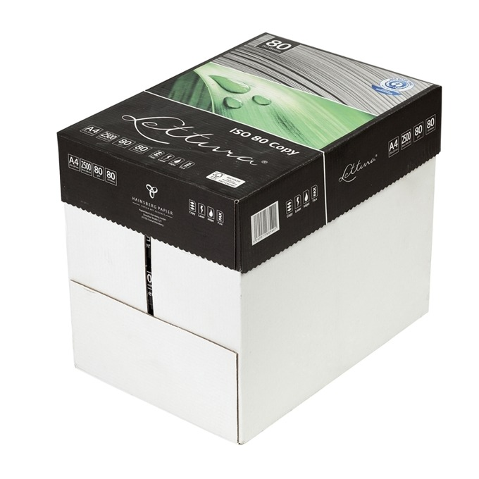 Lettura 80, рециклирана, A4, 80 g/m2, 500 листа, 5 product