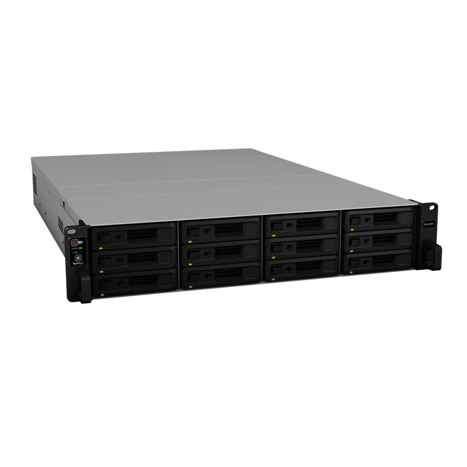 "Мрежови диск (NAS) Synology RackStation RS2418+, четириядрен Denverton Intel Atom C3538 2.1GHz, без твърд диск(12x 2.5""/3.5"" SATA HDD/SSD), 4GB DDR4 RAM, 4x Lan1000, 2x USB 3.0 image"