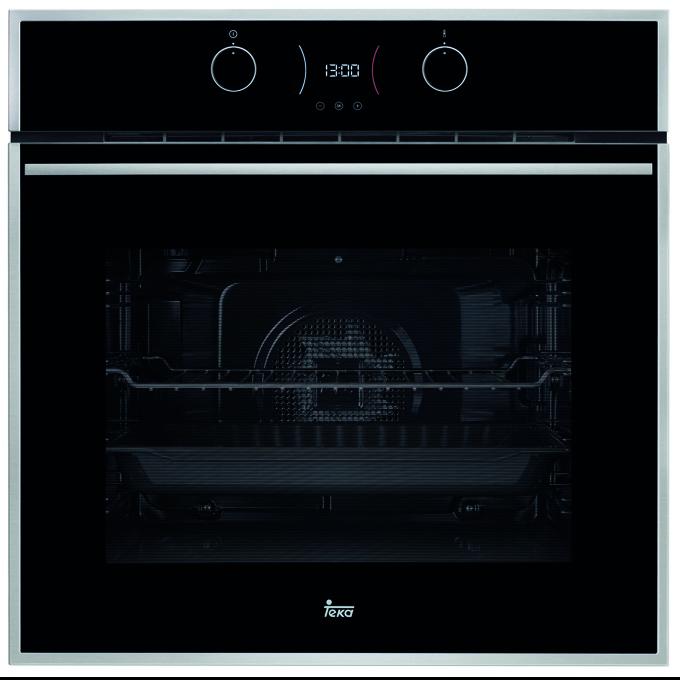 Фурна за вграждане Teka Wish HLB 840 P, клас А+, 70 л. обем, вентилатор, 8 функции + DualClean, бързо загряване, охлаждаща система, черна image