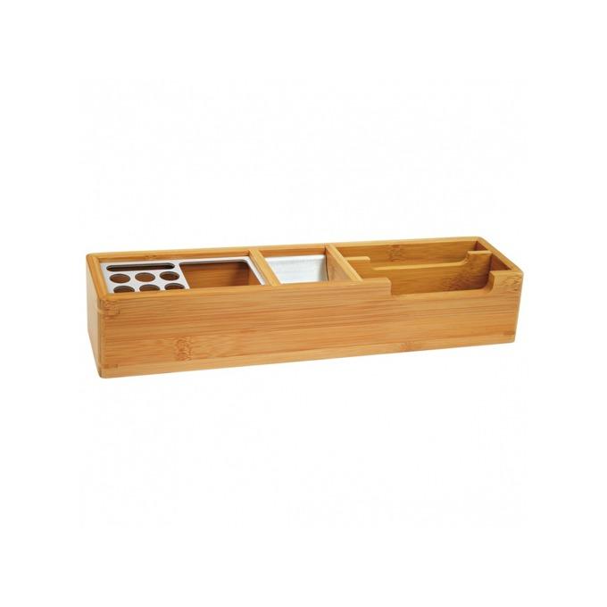 Органайзер за бюро Wedo Bamboo 1007, кафяв image