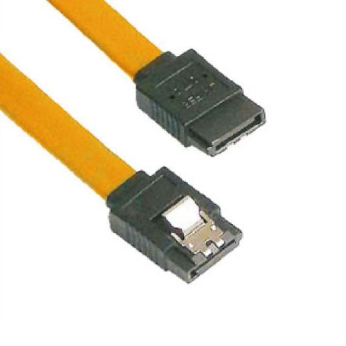 VCom CH302-Y SATA Cable W/Lock 0.45m