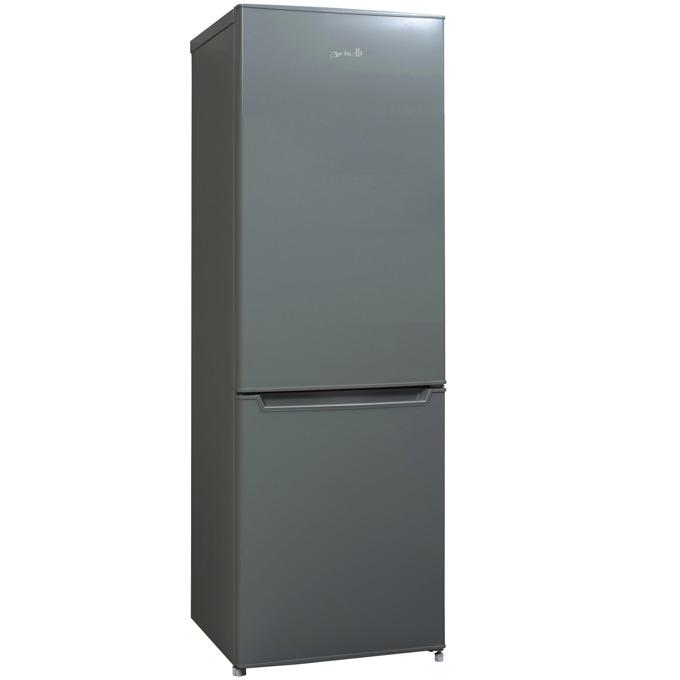 Хладилник с фризер Arielli ARF-250S, клас А+, 230л. общ обем, свободностоящ, сив image