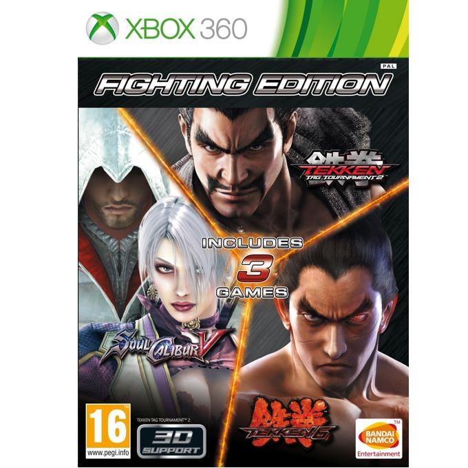Игра за конзола Fighting Compilation: Tekken 6 + Soulcalibur V + Tekken Tag Tournament 2, за Xbox 360 image
