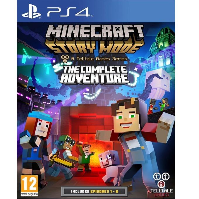 Игра за конзола Minecraft: Story Mode - The Complete Adventure, за PS4 image