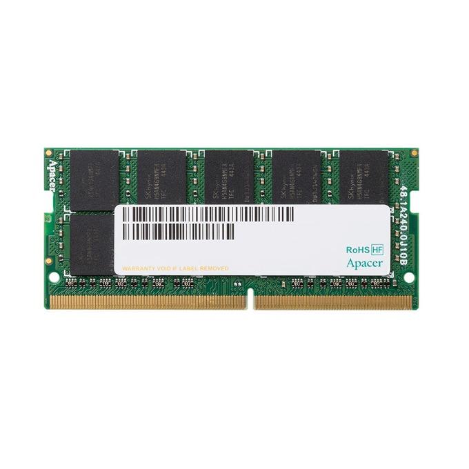 16GB DDR4 2133MHz, SO-DIMM, Apacer AS16GGB13CDYBGH, 1.2V image