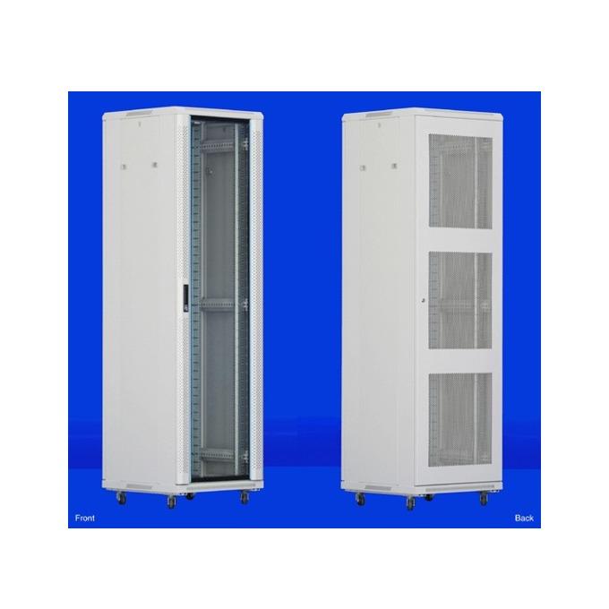 "Комуникационен шкаф Toten AS.6627, 19"", 27U, 600x600 мм, до 800кг товароносимост, IP20 защита image"
