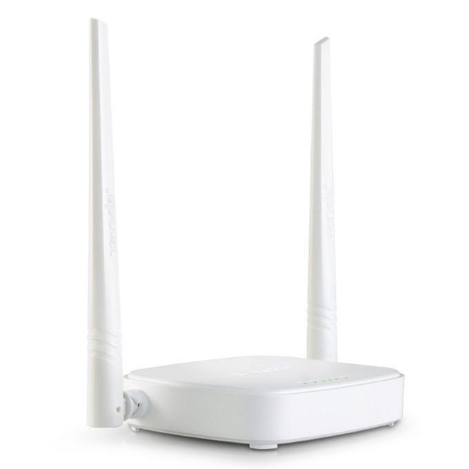 Рутер Tenda-N301, 300Mbps, 2.4 GHz (300 Mbps), 3x LAN 10/100, 1x WAN 10/100, 2 външни антени image