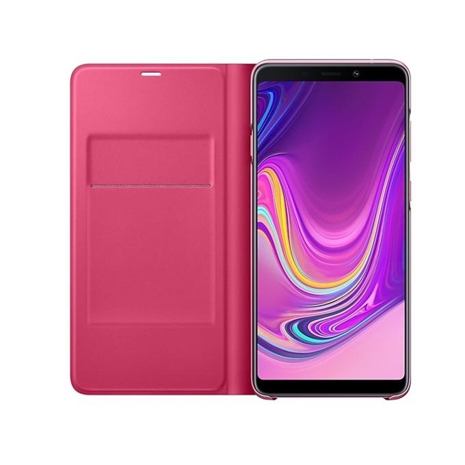 Калъф за Samsung Galaxy A9 (2018), A920, тип Flip Wallet, розов image
