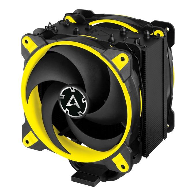Охлаждане за процесор Arctic Freezer 34 eSports DUO Yellow, съвместимост със Intel LGA2066/LGA2011/LGA1151 & AMD AM4 image