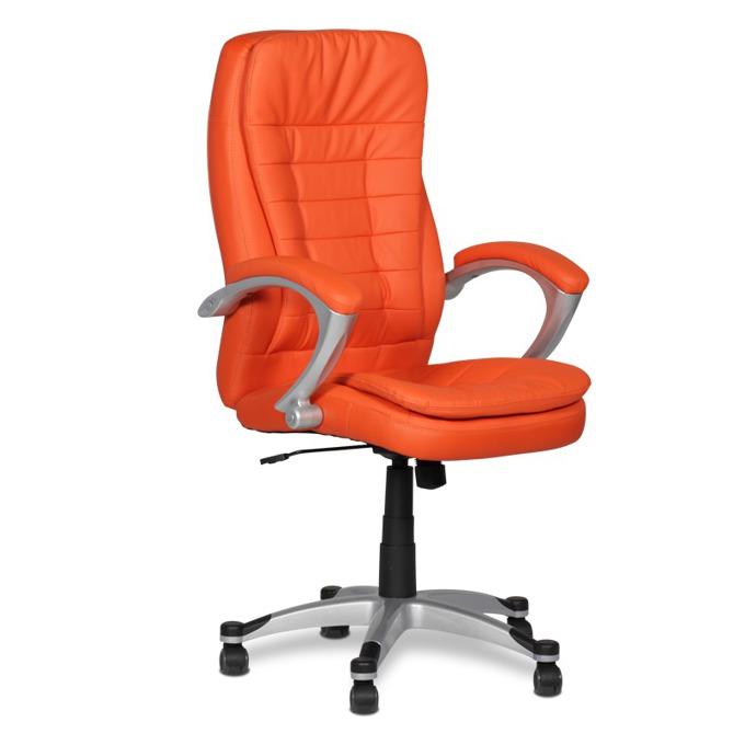 Директорски стол Carmen 6013, оранжев image