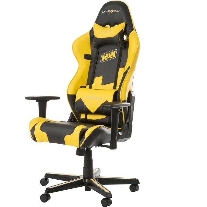 Геймърски стол DXRacer Racing Na'Vi, жълт image