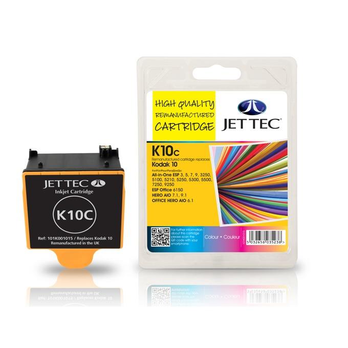 Глава за Kodak ESP 3, 5, 7, 3250 - Color - Kodak 10C - Неоригинална - Jet Tec image