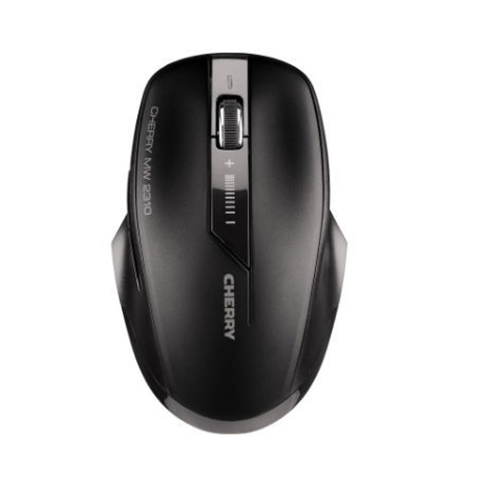 Мишка CHERRY MW 2310, оптична (2000 dpi) безжична, черна, USB image