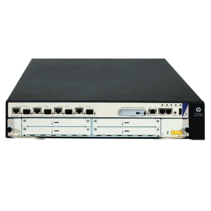 Рутер HPE HSR6602-G Router JG353A, 4x WAN Dual Personality, 2GB RAM, 512MB Flash памет, 1x USB Type A,  image