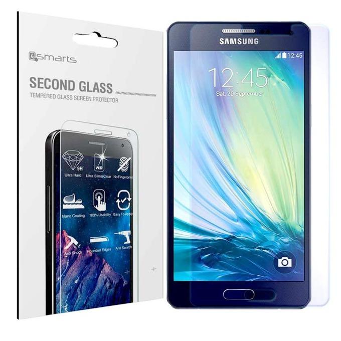 Протектор от закалено стъкло /Tempered Glass/ 4smarts Second Glass за Samsung Galaxy A5, прозрачен image