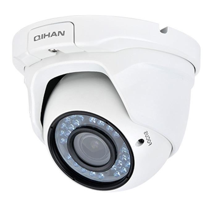 "IP камера Qihan QH-NV434SO-P, куполна, водоустойчива, 2.0 MP, 1920x1080@30fps, 1/2.7"" CMOS, 2.8-12mm, POE, ИЧ-30m image"