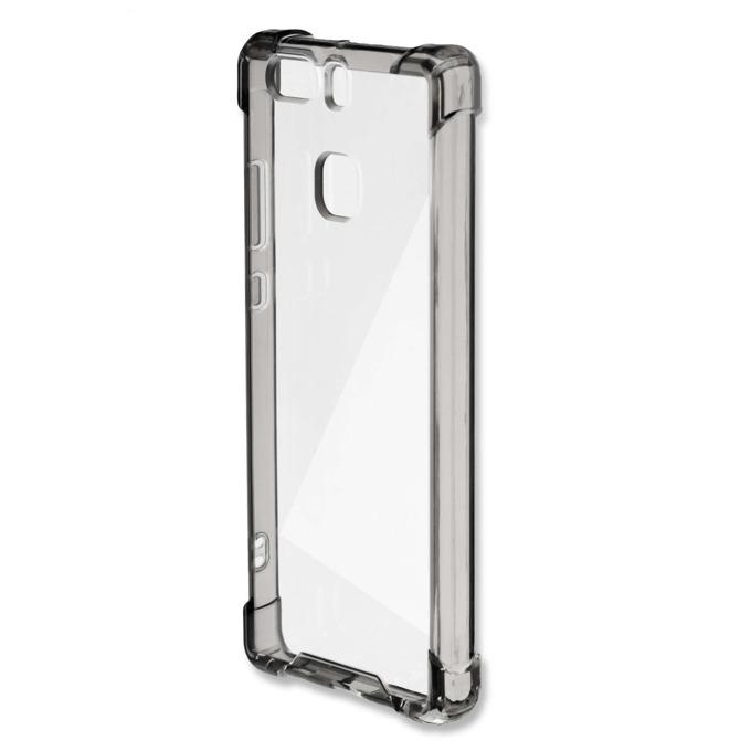 Калъф за Huawei P9, страничен протектор с гръб, поликарбонат, 4Smarts Basic Ibiza Clip, сребрист image