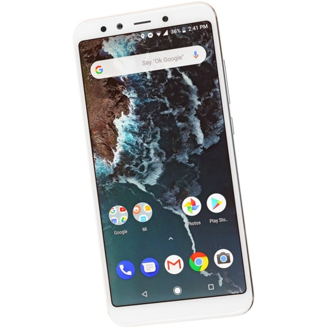 "Смартфон Xiaomi Mi A2 (златист), поддържа 2 sim карти, 5.99"" (15.21 cm), осемядрен Snapdragon 660, 4GB RAM, 64GB Flash памет, 20MPix + 12MPix двойна задна камера & 20MPix предна камера, Android, 168g image"