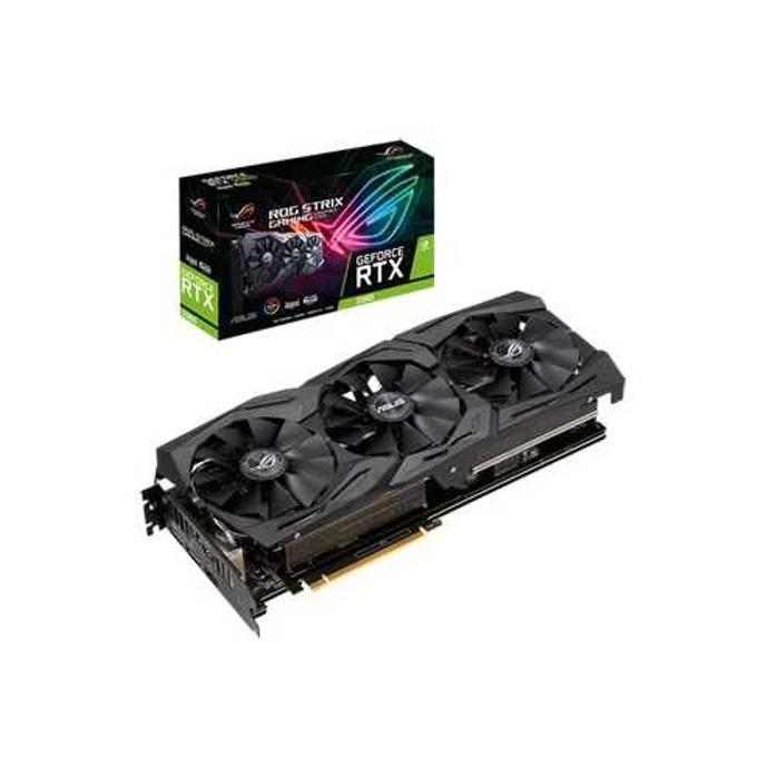 Видео карта Nvidia GeForce RTX 2060, 6GB, Asus ROG Strix Gaming, PCI-E, GDDR6, 192 bit, DisplayPort, HDMI image
