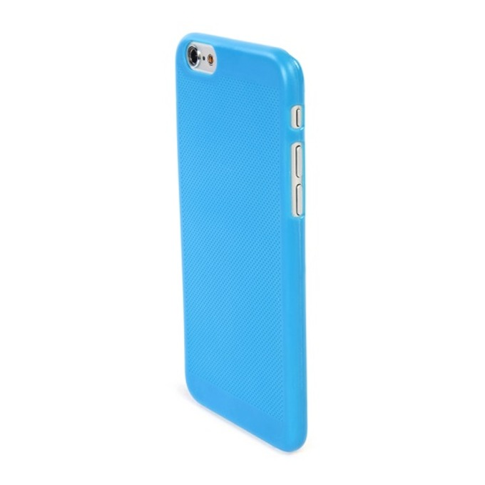 Калъф за Apple iPhone 6/6s, тънък поликарбонатов, Tucano Tela Snap Case, син image